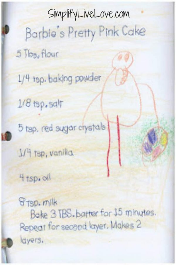 anna's easy bake recipe