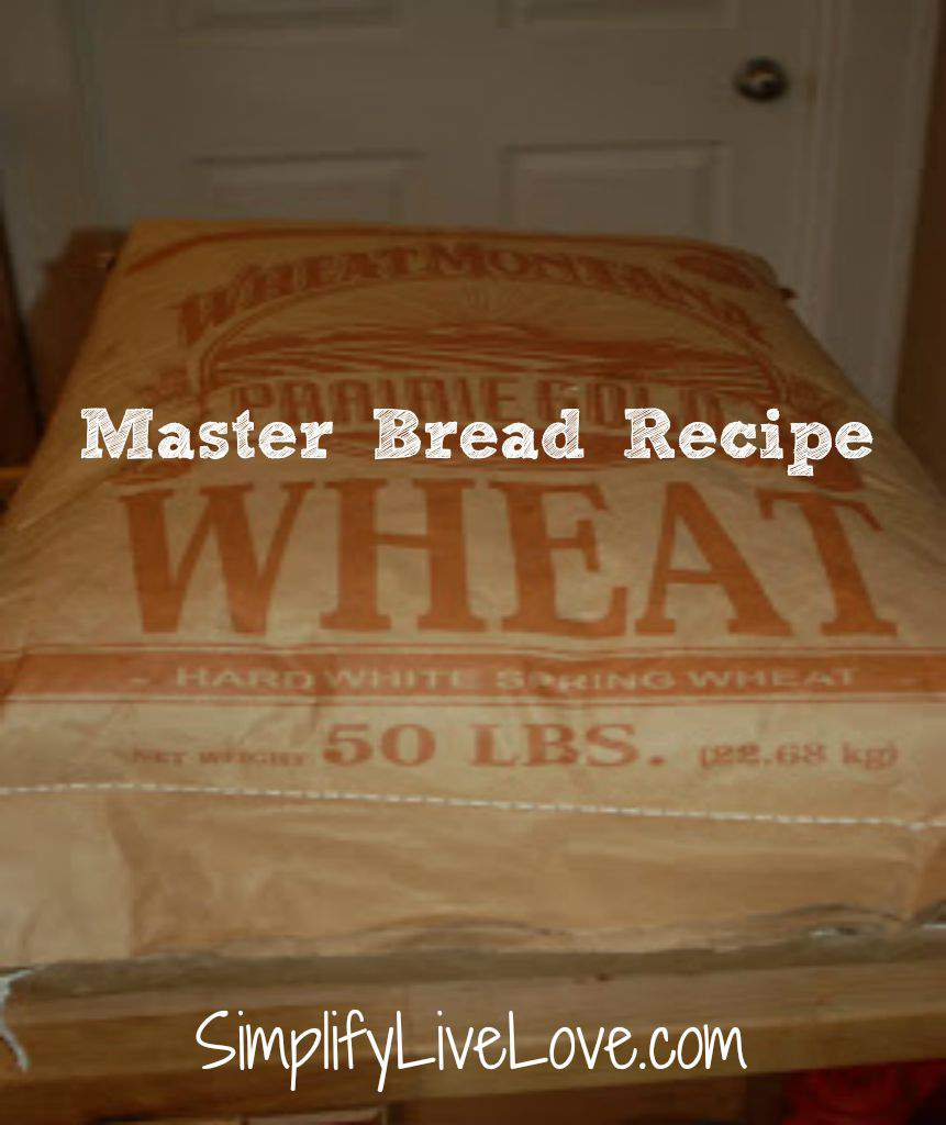 Master Bread Recipe