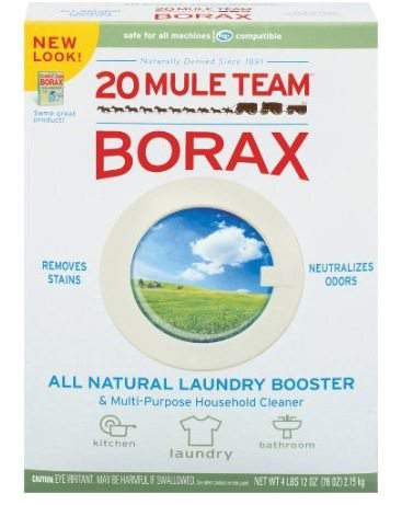 borax for cleaning porcelain sinks