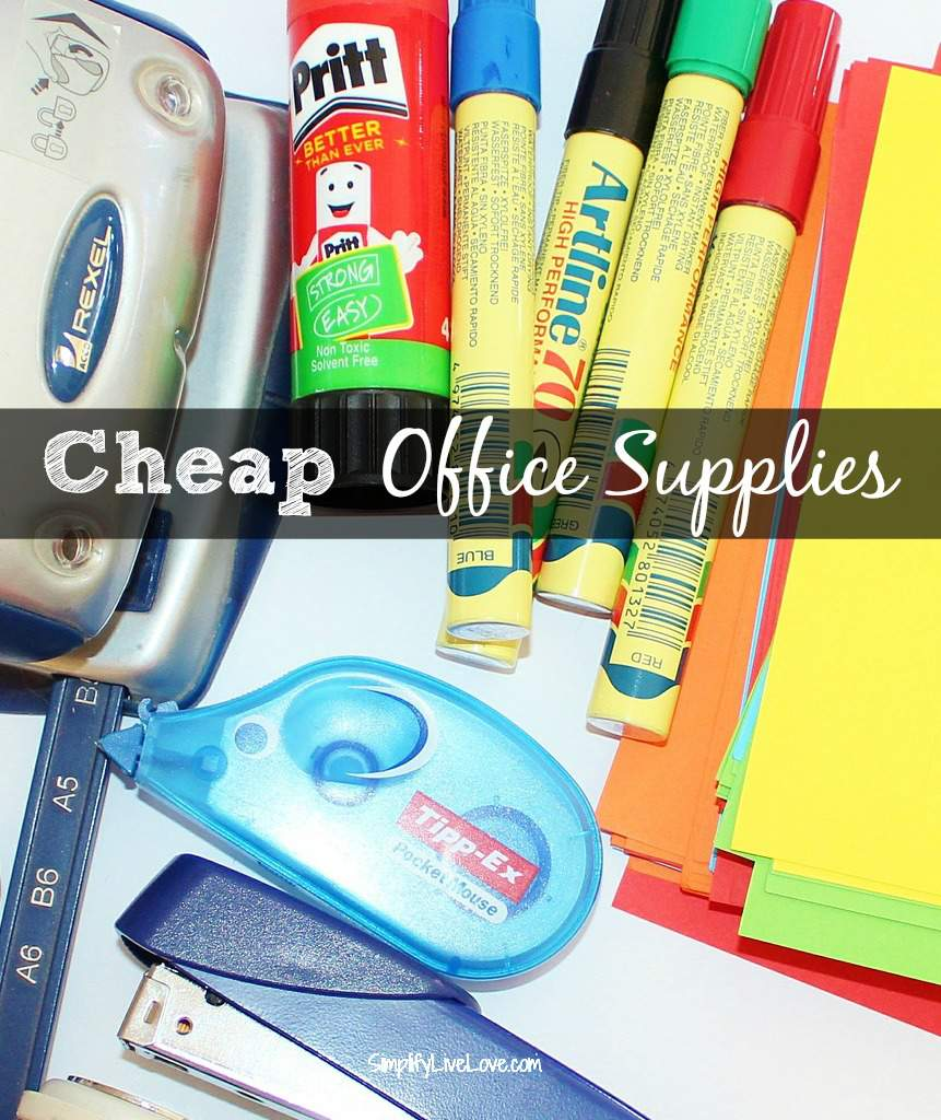 Cheap Office Supplies