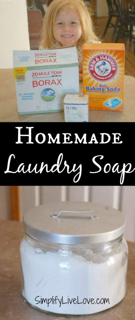Money Saving Homemade Laundry Soap that Actually Works!