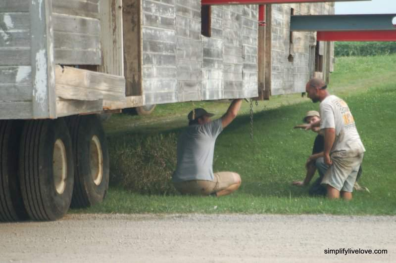 moving the barn