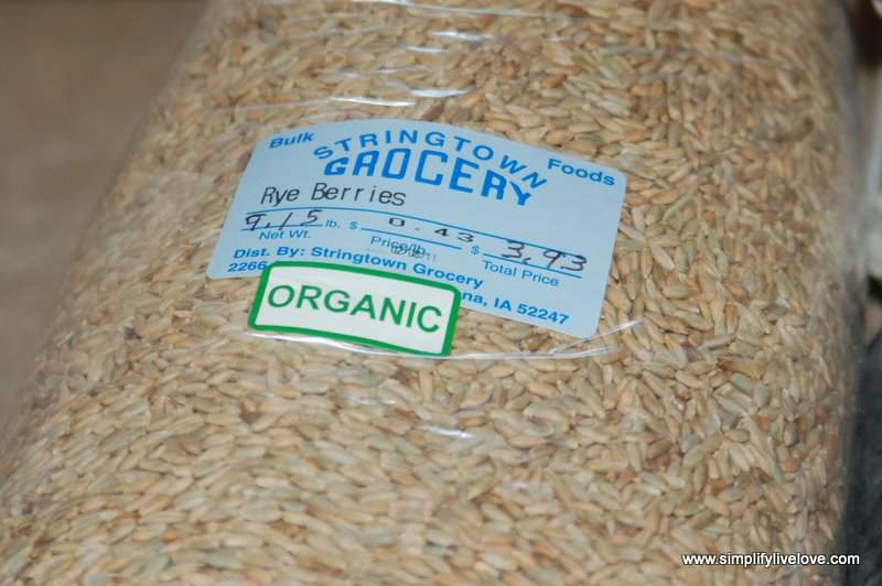 rye berries from stringtown