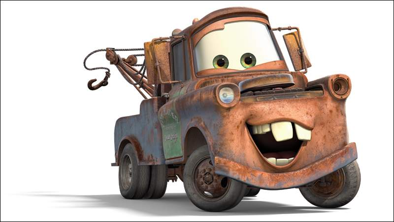 Mater from Cars