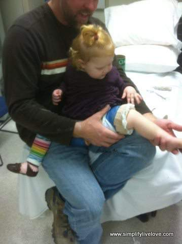 petaling the spica cast leg