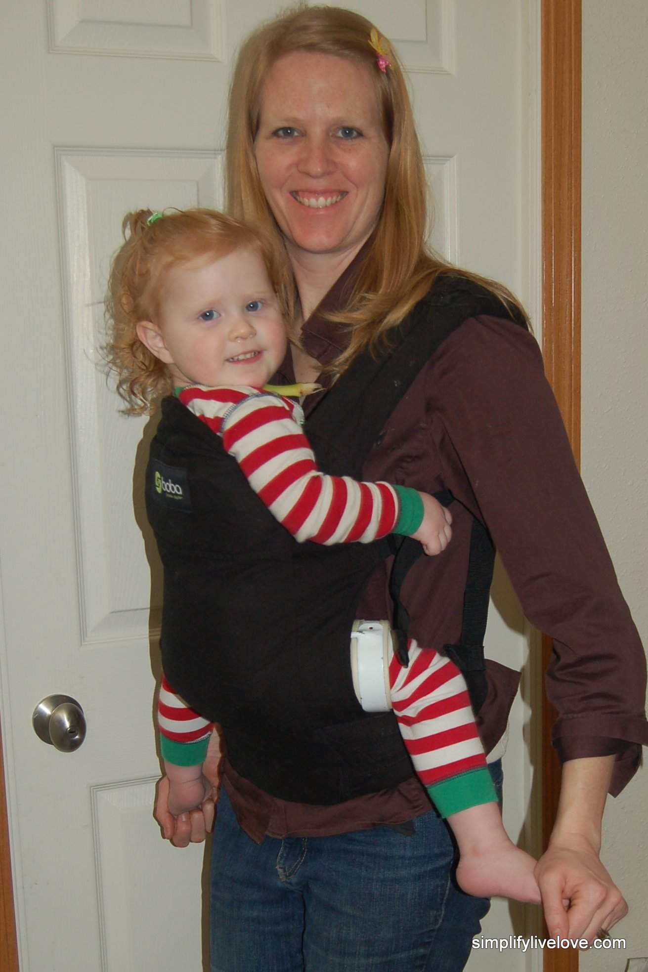 Boba baby carrier - hip dysplasia safe