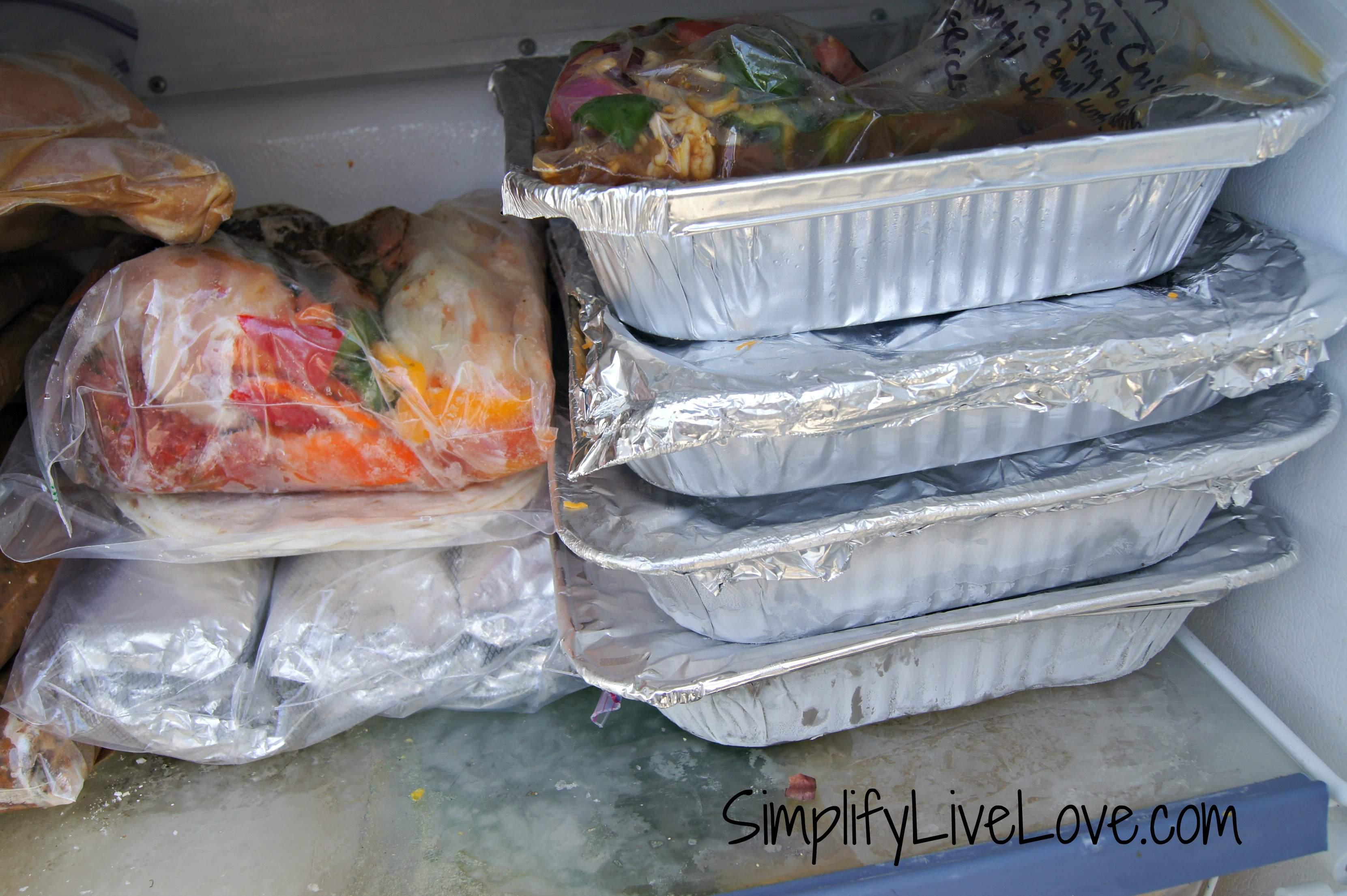 freezer meals