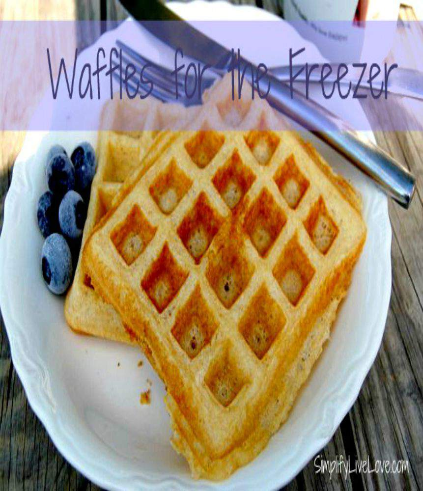 waffles for the freezer