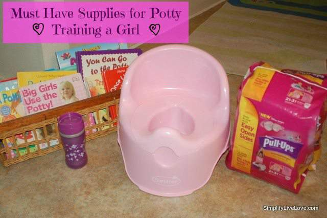 Must Know Tips for Potty Training Girls