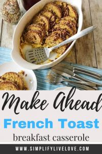 overnight french toast breakfast casserole