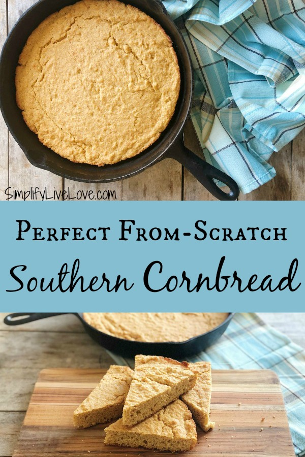 perfect from scratch southern cornbread