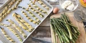 Cream Cheese & Parmesan Asparagus Spears Recipe
