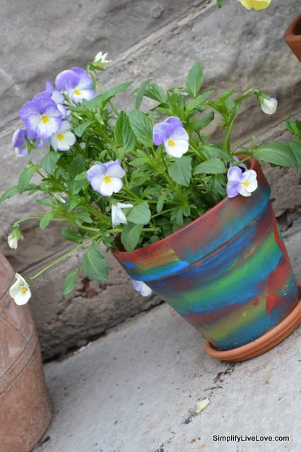 ade mother's day flower pot