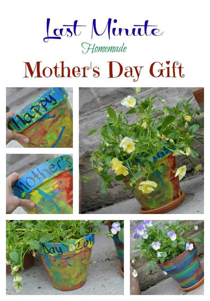 painted pot for mother's day