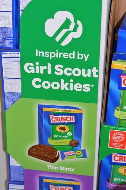 Nestle Girl Scout Crunch
