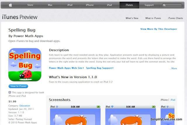 spelling bug app