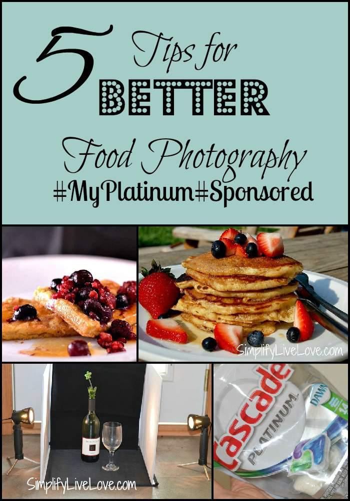 food photgraphy tips