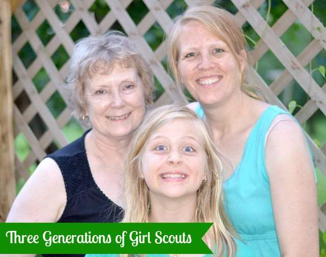 3 generations of girl scouts