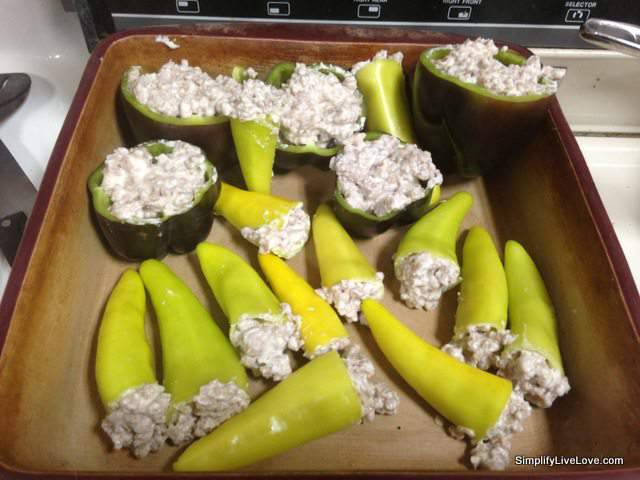 3 Ingredient Banana Peppers