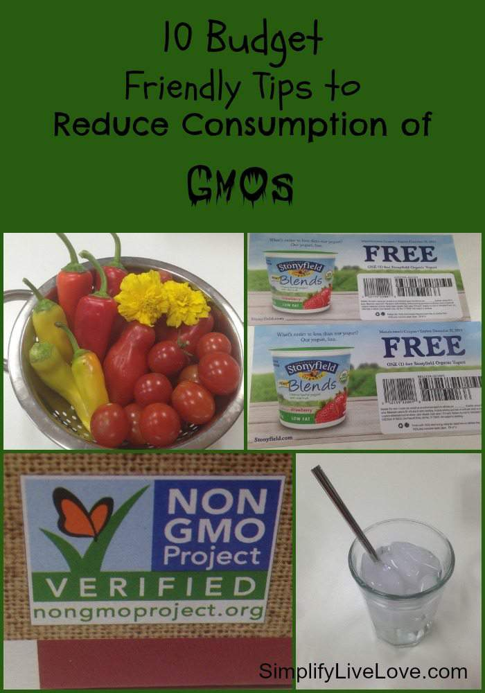 10 Budget Friendly Tips to Reduce Consumption of GMOs