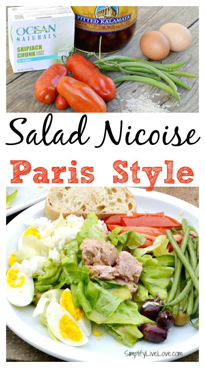 Salad Nicoise Paris Style