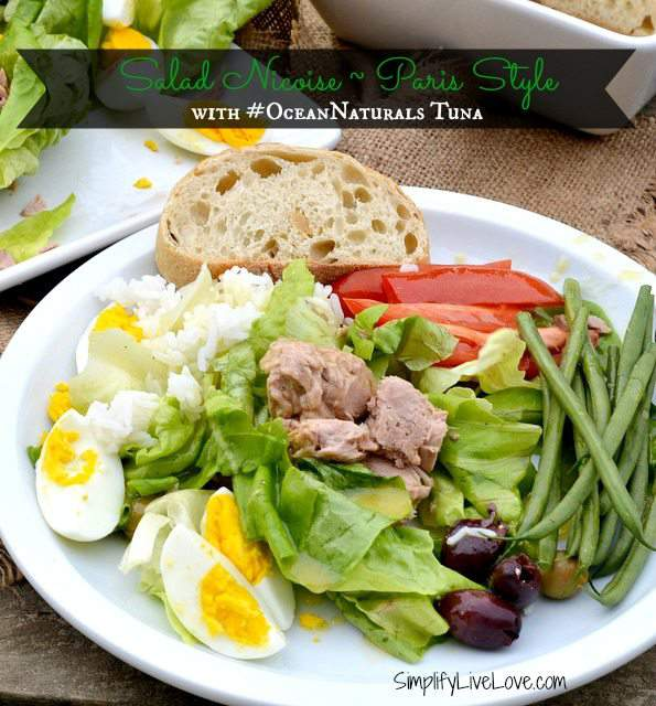 Salad Nicoise with #OceanNaturals Tuna