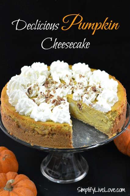 Delicious-Pumpkin-Cheesecake