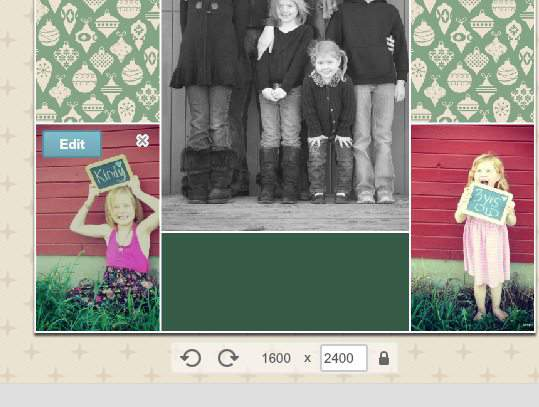 How to make a printable photo collage in picmonkey