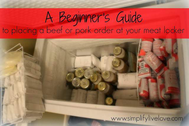 beginners guide to placing meat locker order