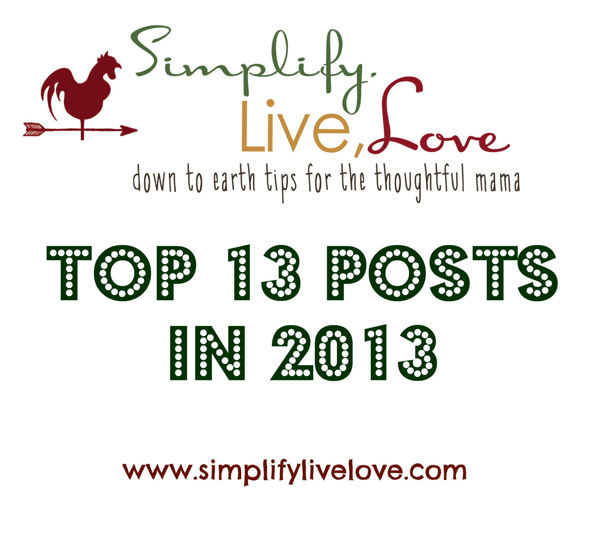 top 13 posts in 2013