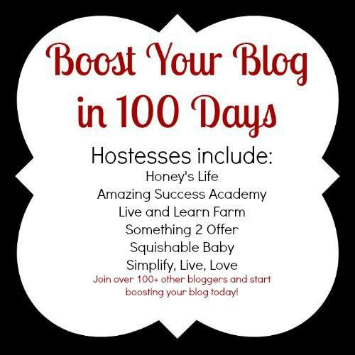 boost your blog in 100 days #bb100