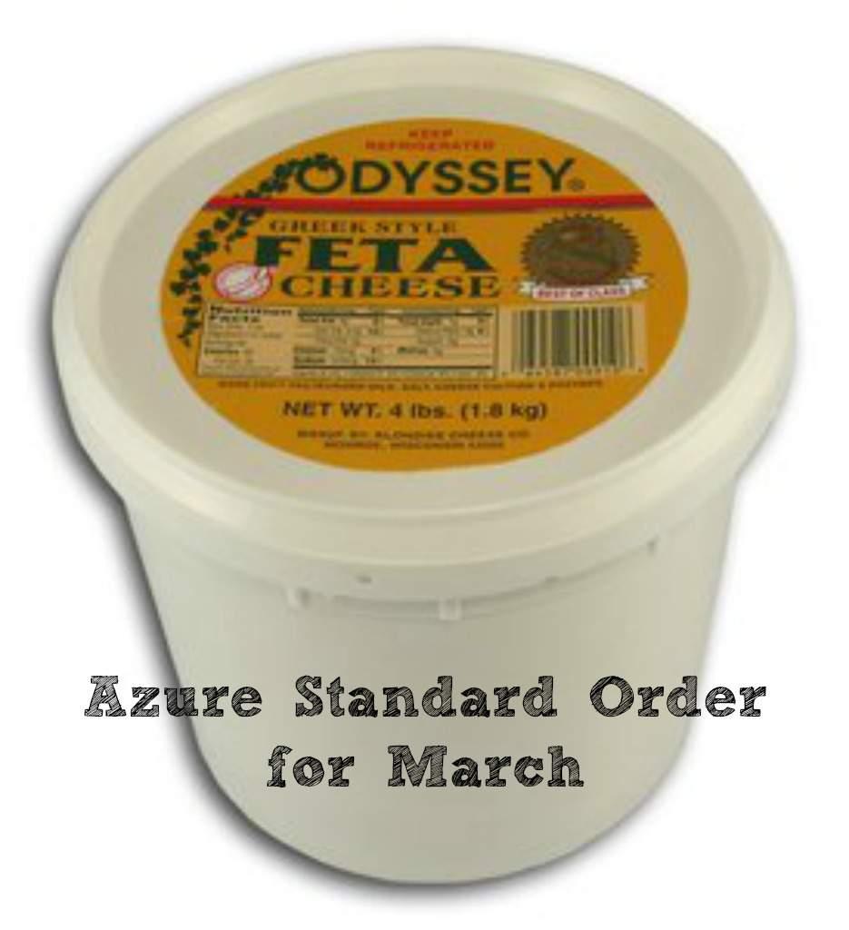 Azure Standard Order