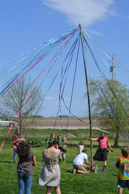 The May Pole, Many Hands House