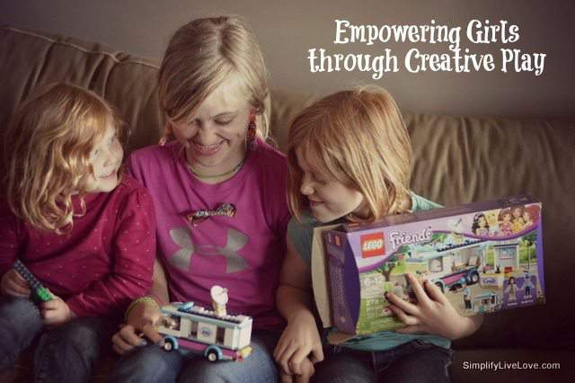 Empowering Girls through Creative Play #LEGOFriendsCGC #spon
