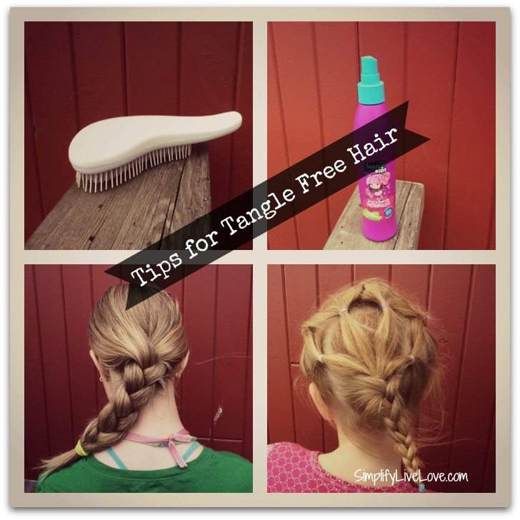 Tips for tangle free hair #CraveNaturals #sp