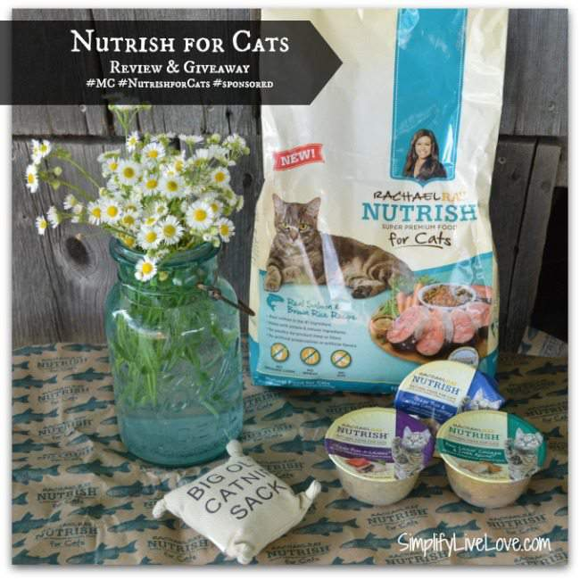 Nutrish For Cats - Review & Giveaway #MC #NutrishforCats #sponsored
