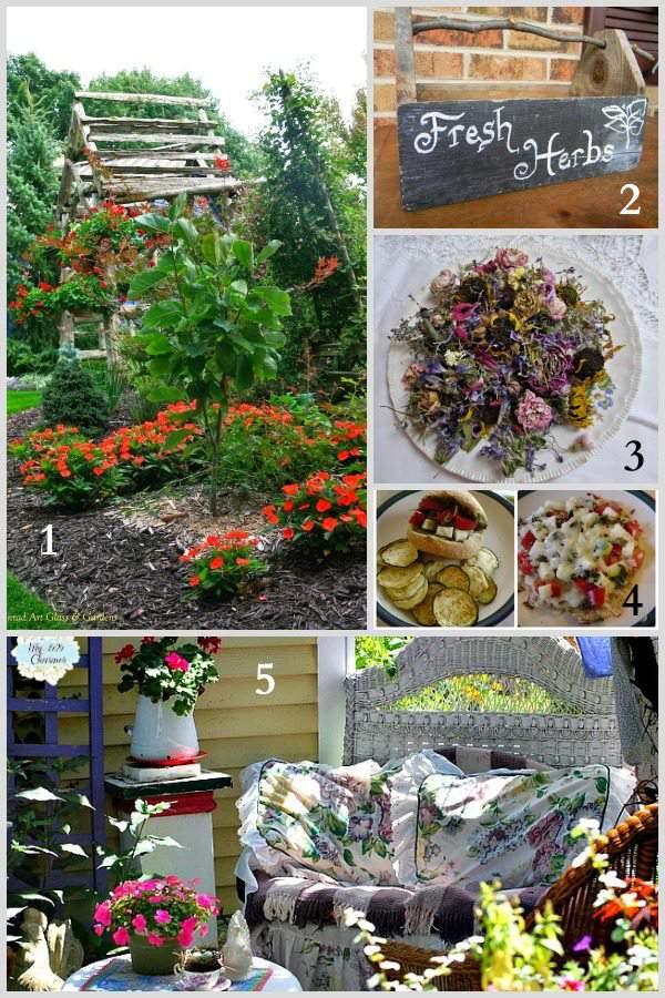 Tuesday Garden Party Features 9.2.14