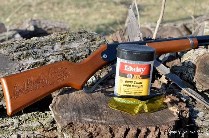 Gift a Daisy! And a Bass Pro Shop Giveaway #ItsADaisy #CollectiveBias #ad red ryder BB Gun
