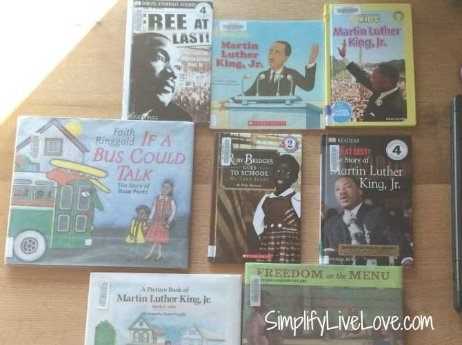 Multi-age children's books about Martin Luther King Jr
