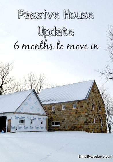 Passive House Update - 6 months to move in