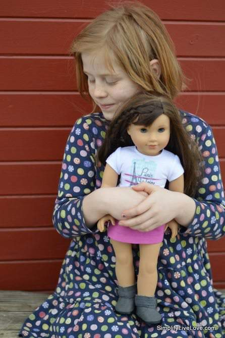 Cora and Grace - American Girl of the Year 2015