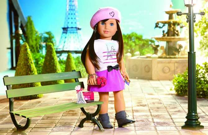 Grace Paris Doll interview with Mary Casanova author of American Girl doll of year 2015
