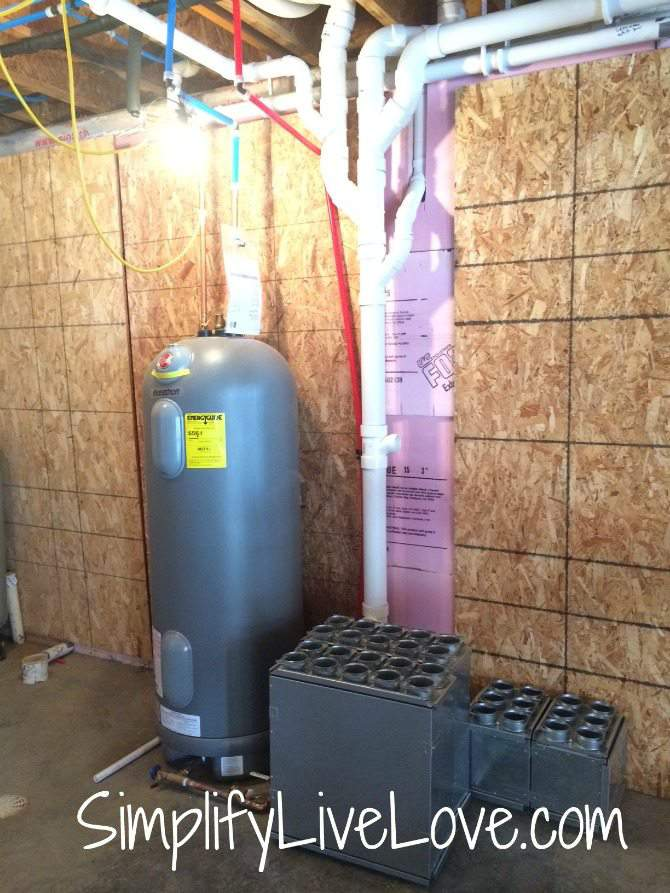 passive house update - electric water heater and zehnder erv parts