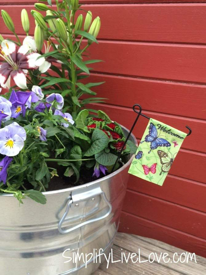 Be a Butterfly Hero – Grow a Butterfly Garden in a Pot - welcome butterflies