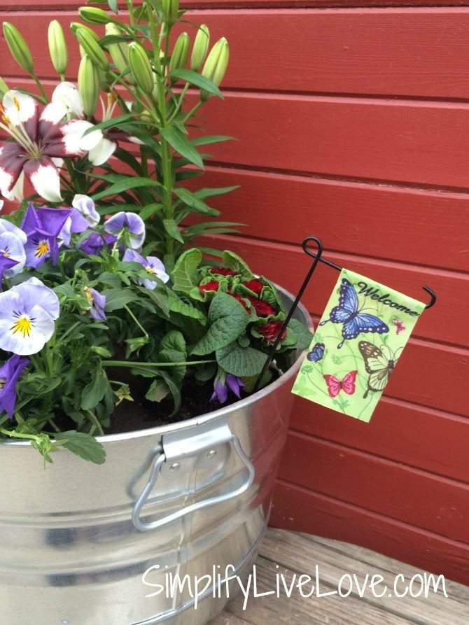Be A Butterfly Hero U2013 Grow A Butterfly Garden In A Pot   Welcome Butterflies