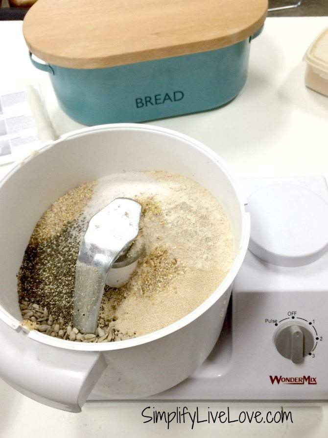How to Make 10 Grain Bread Wondermix Kitchen Mixer Giveaway