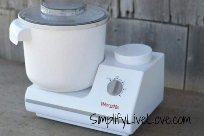 How to Make Homemade 12 Grain Bread and WonderMix Kitchen Mixer Giveaway