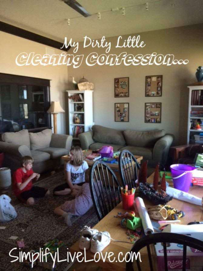 My Dirty Little Home Cleaning Confession #BonaHealthyHome #ad