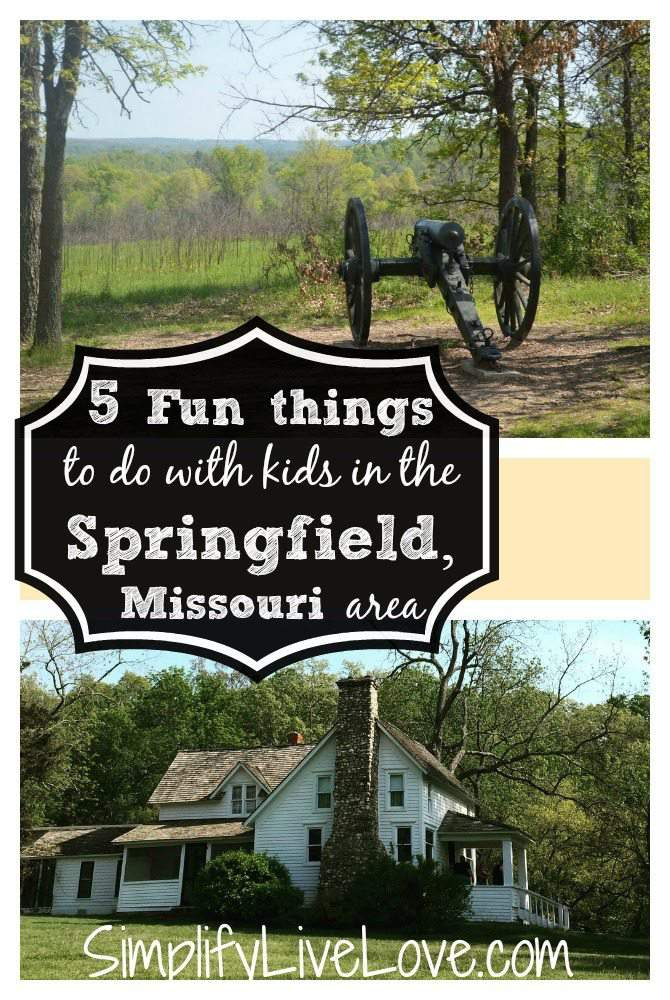 Heading to Springfield Missouri? If so, you'll want to check out all of these fun things to do in and around the area including Wilson's Creek National Battlefield, Laura Ingalls Wilder's Rocky Ridge Farm and more!