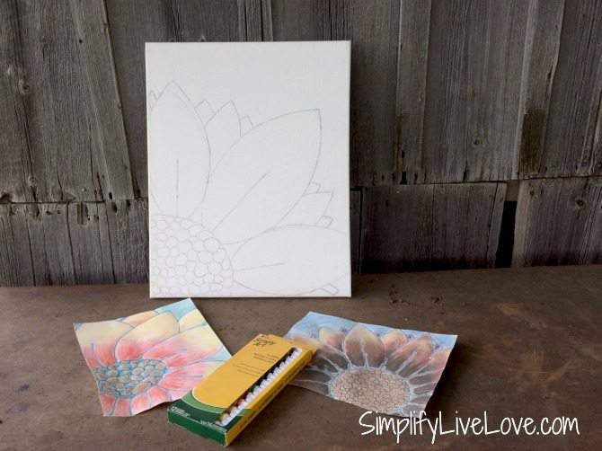 5 Fun Ways to Beat Summer Learning Loss #SmarterSummer #IC #ad from SimplifyLiveLove - Georgia O'Keefe art project